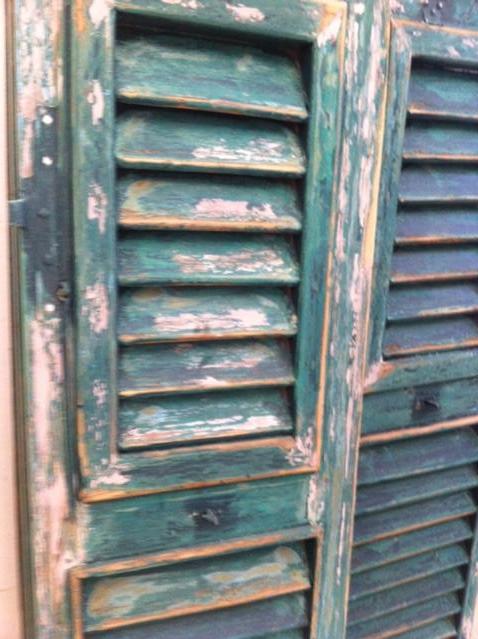 persiane da restaurare