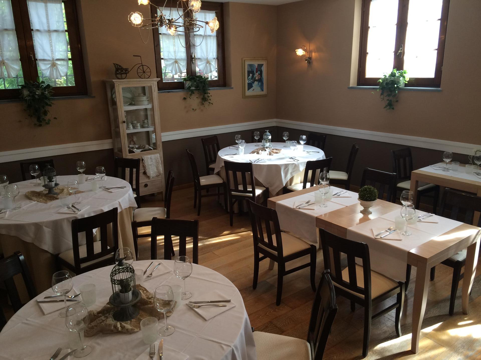 sala interna per ristorante