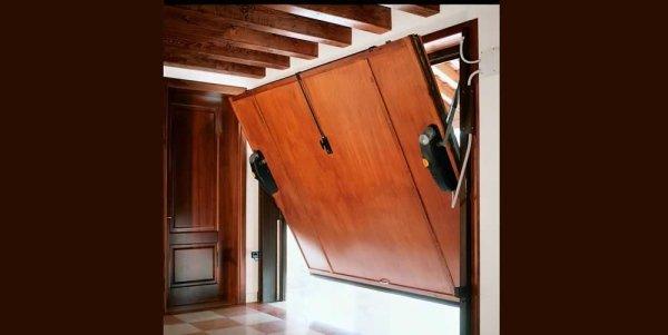 porta basculante garage