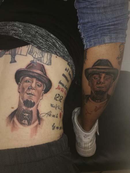 Tatuaggi volti