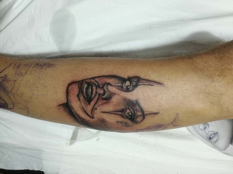 Tatuaggi viso