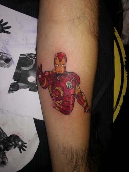 Tatuaggi iron man