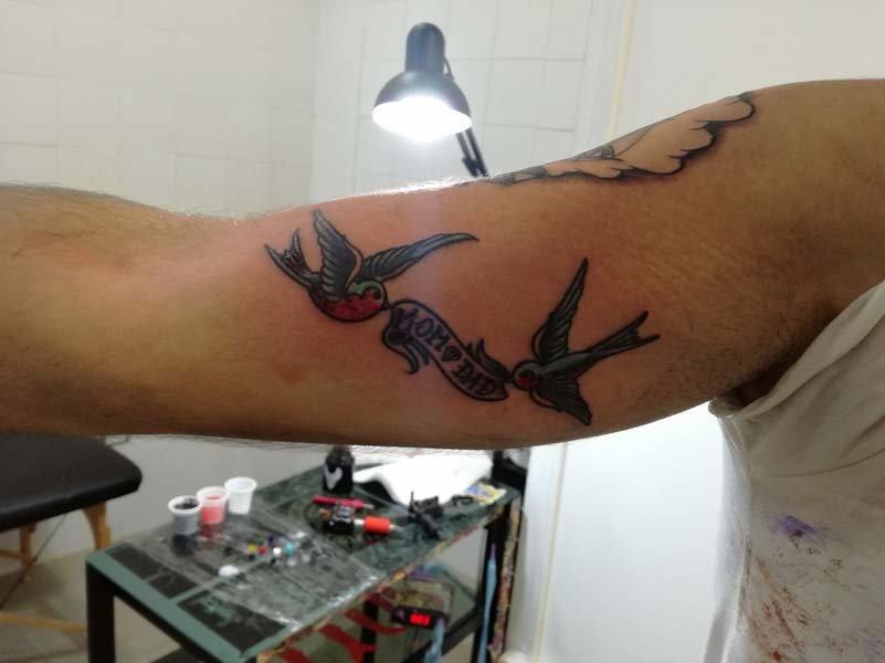 Tatuaggi uccelli