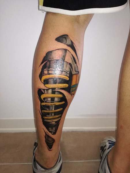 Tatuaggi sospensioni
