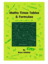 Maths Time Table & Formulae