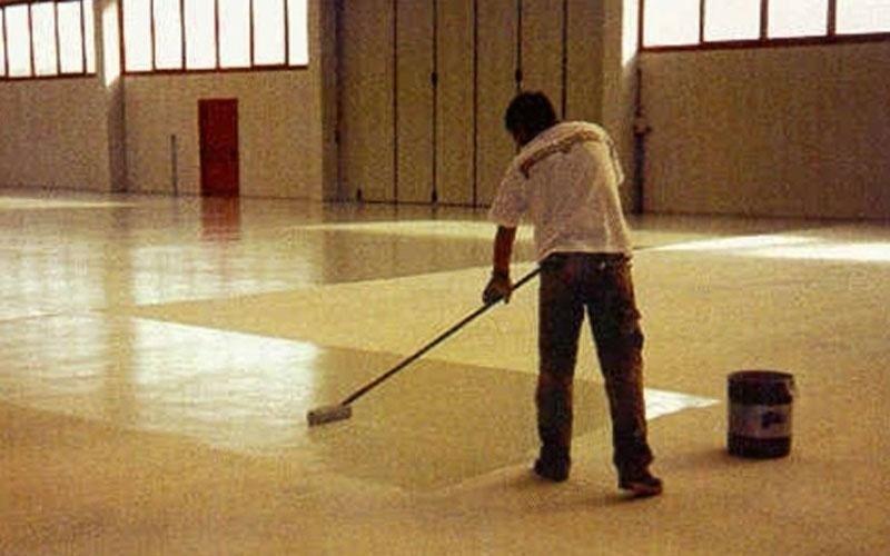 resina a pavimento