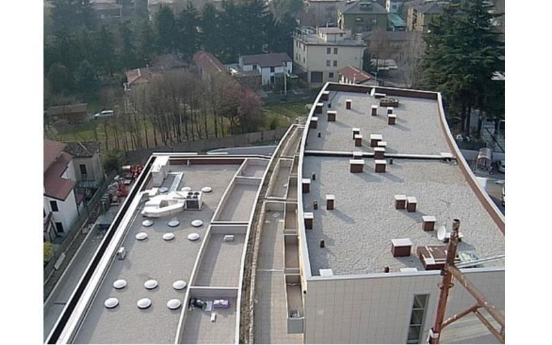tetti impermeabilizzati