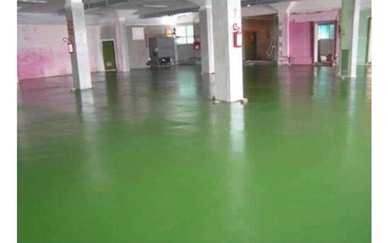 pavimento in resina industriale