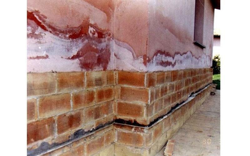 risanamento per umidità muro