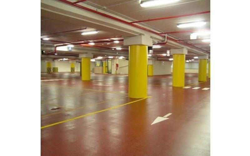pavimento in resina per parcheggi