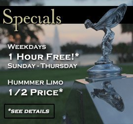 wedding limo specials New Orleans