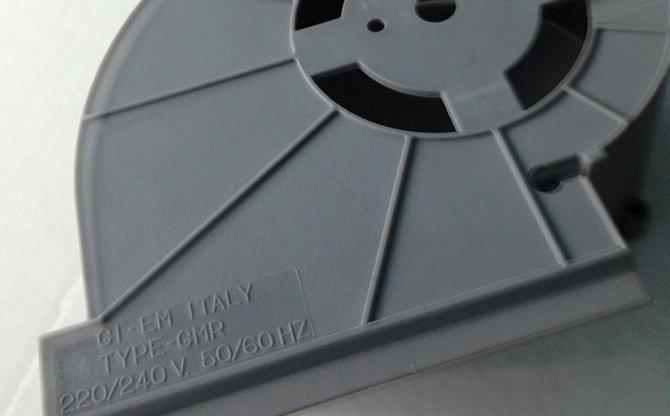 Stampaggio plastica per elettronica