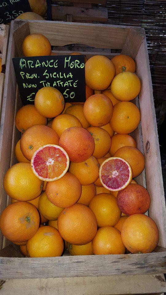cassetta di arancie