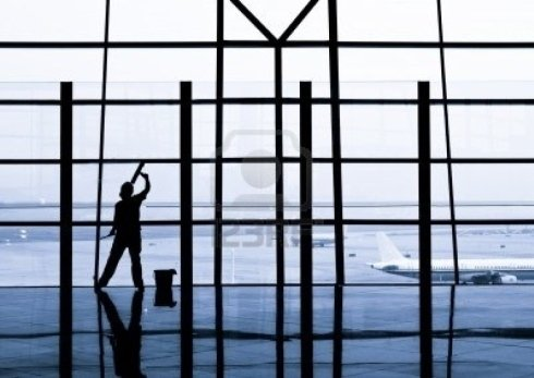 Pulizia aeroporti