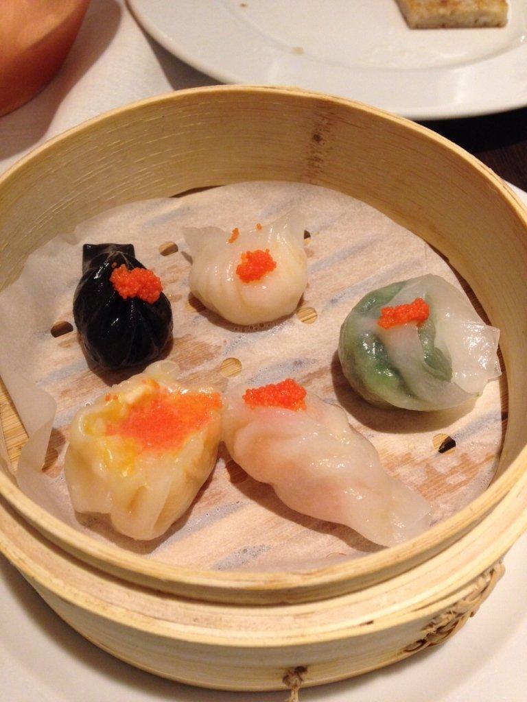 dei ravioli cinesi di diversi gusti