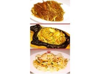 noodles asiatici di diversi gusti
