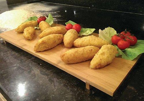 Crochette di patate con mozzarella