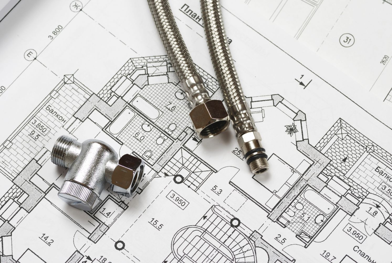 Equipment and blueprint for plumbing service in Cincinnati, OH