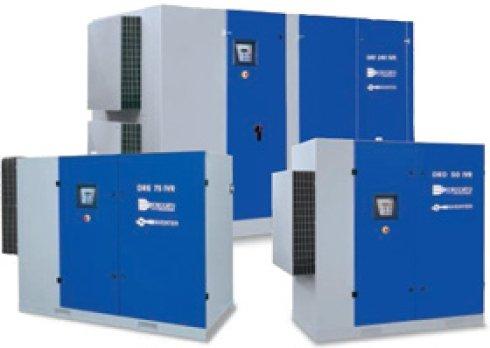 elettrocompressori a varie velocità, impianti ad aria compressa, impianti per officine