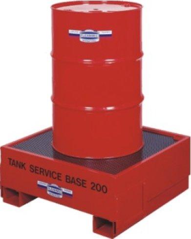 gestione di fluidi esausti, contenitori per fluidi, distributori di fluidi