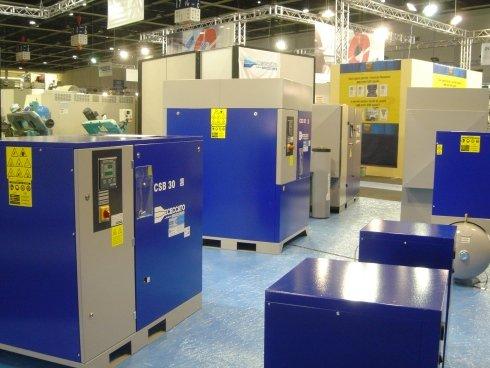 Esposizione elettrocompressori