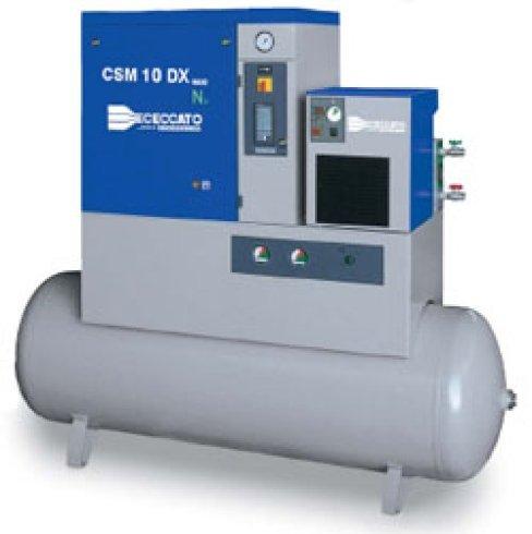elettrocompressori a velocità variabile, elettrocompressori a vite, elettrocompressori per officine