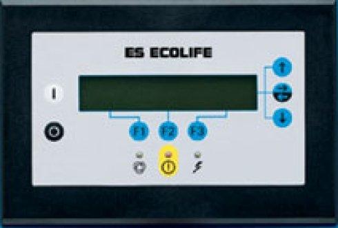 elettrocompressori a velocità fissa, sistemi di controllo elettronico, pannelli elettronici