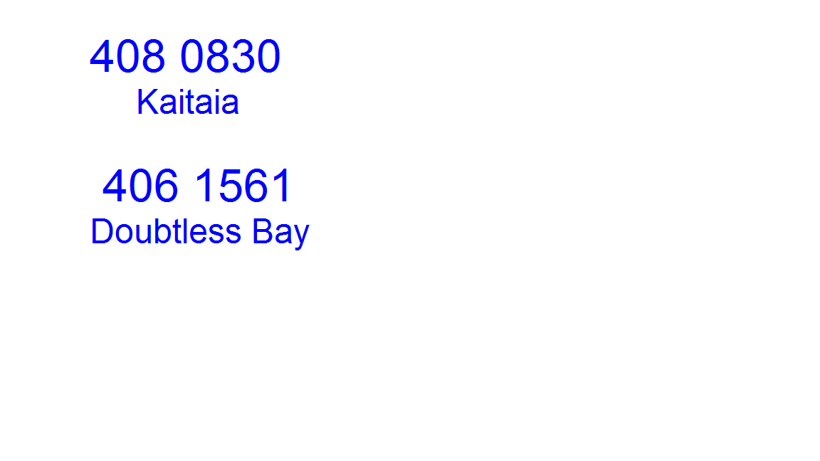The number for drainlaying experts in Kaitaia