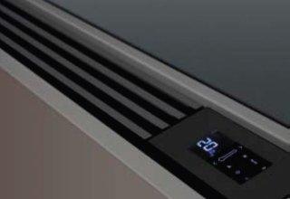 controllo di ventilconvettore display