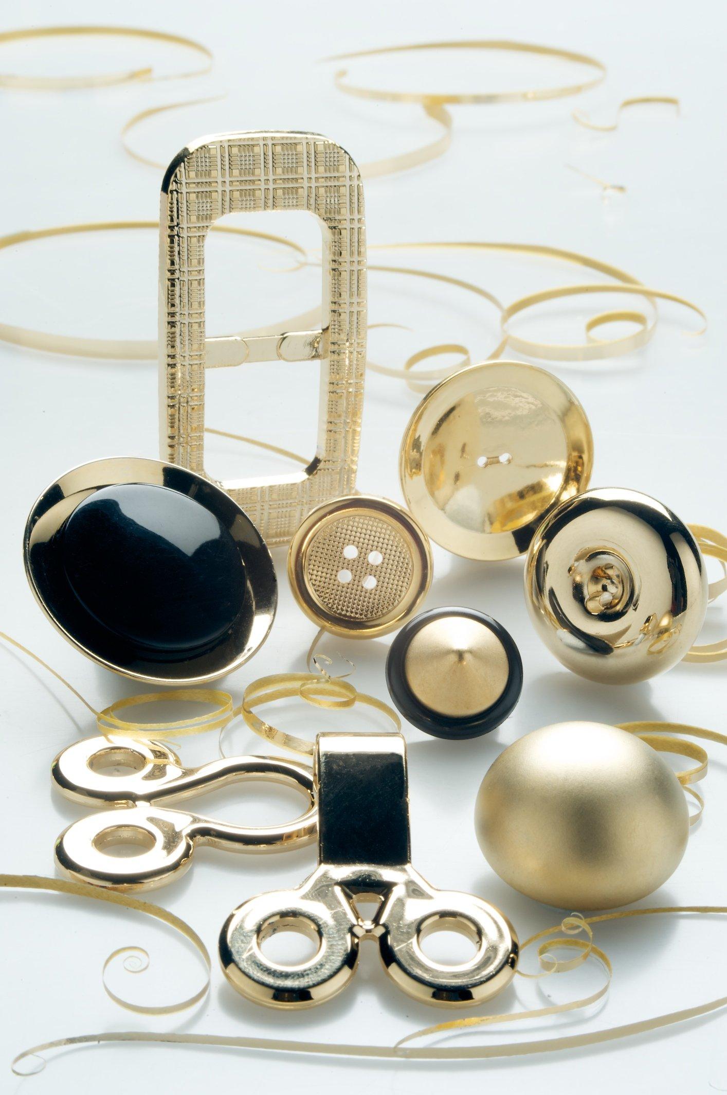 Bottoni color oro eleganti