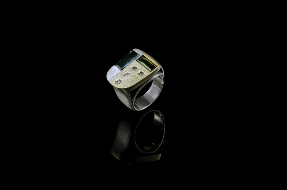 Linden's custom made rings