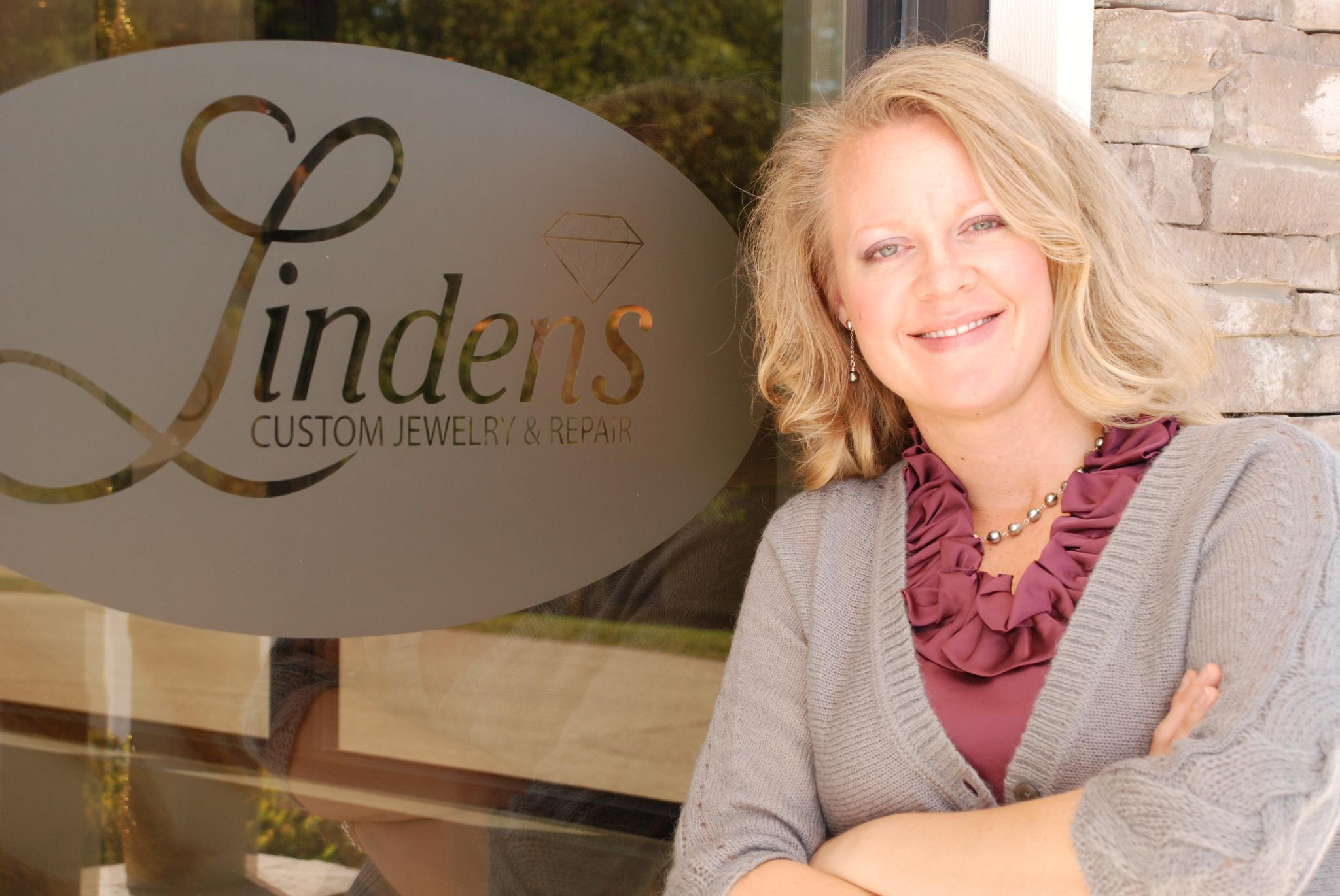 Linden's Custom jewelry & Diamonds - Ashley Linden - Business Front