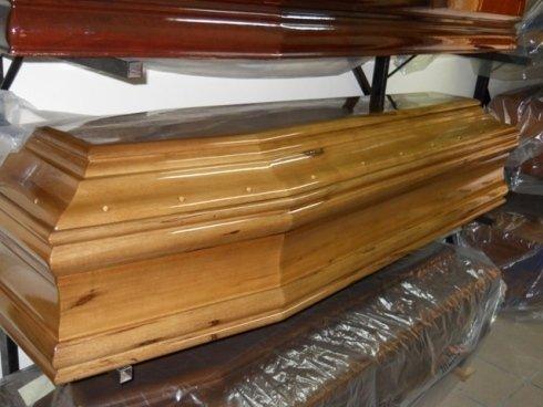 Feretro in legno