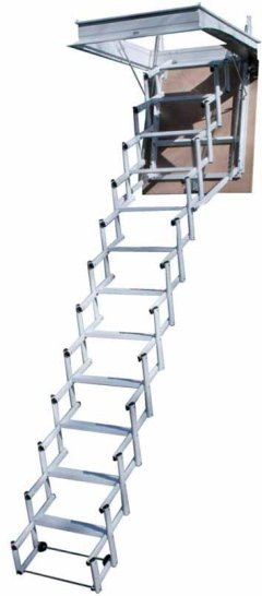 escalera retráctil sr plus