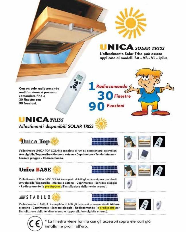 UNICA SOLAR TRISS