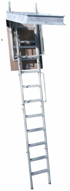 SR34P PLUS RETRACTABLE LADDER