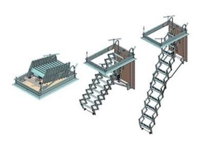 Réalisation et vente d'escaliers