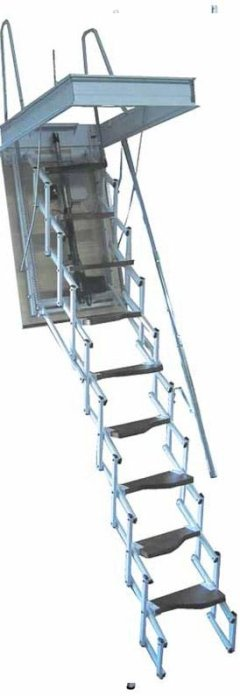 SRE PLUS RETRACTABLE LADDER
