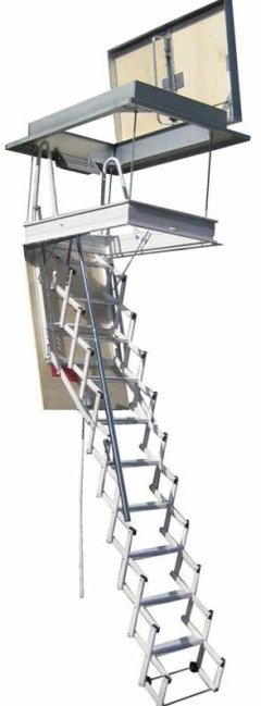 SRB PLUS TERRACE RETRACTABLE LADDER
