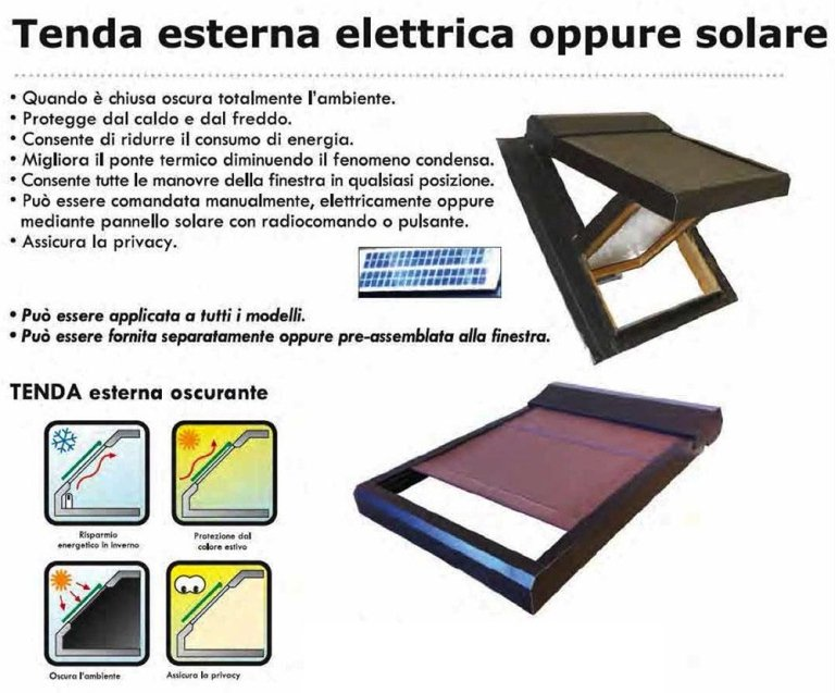 ELECTRIC EXTERNAL BLACKOUT BLINDS