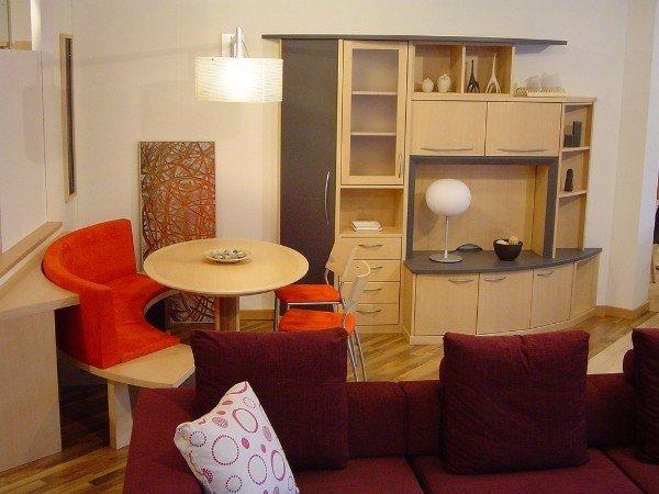 tavolino tondo per area living
