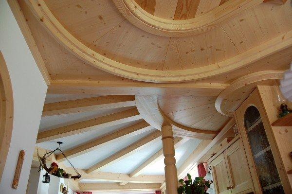 rivestimento soffitto e pareti in legno