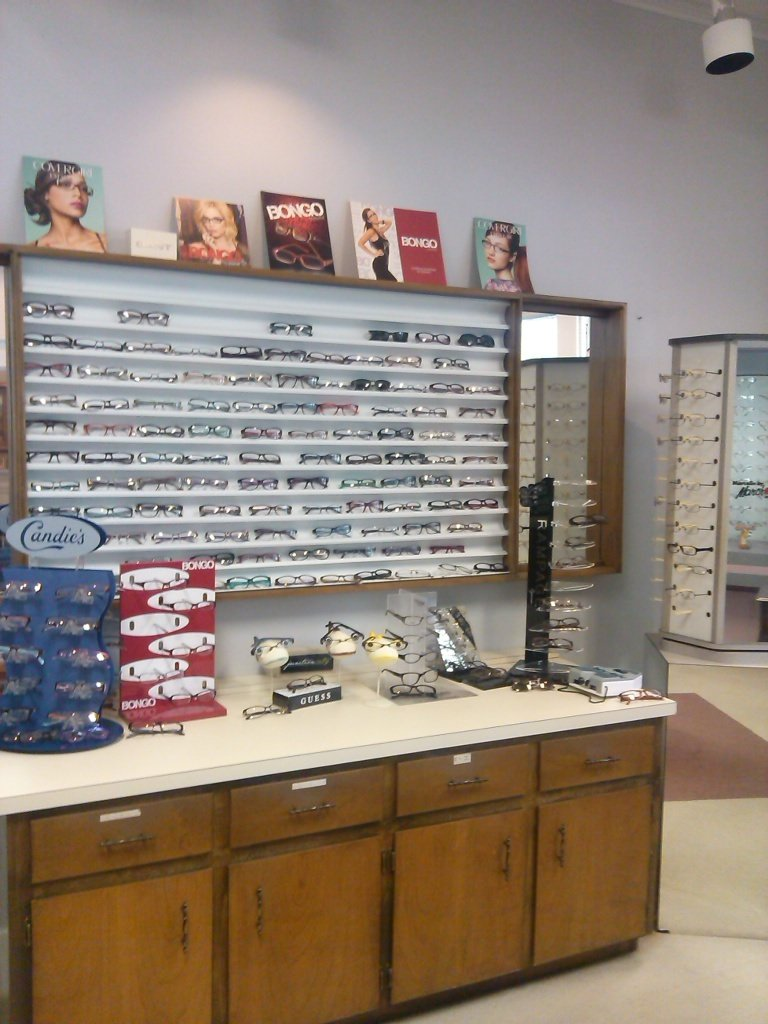 Example of glasses and contact lenses from our eye wear specialist in Dothan, AL