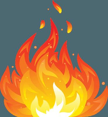 Icona di una fiamma