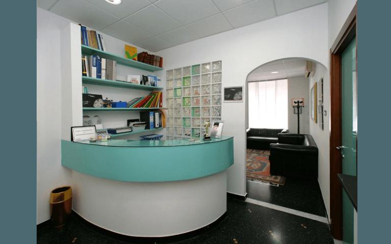 reception dentista