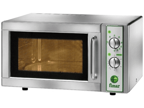 Forno a microonde inox