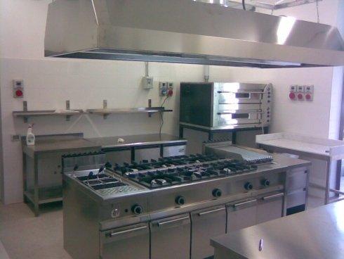 Realizzazione cucina industriale
