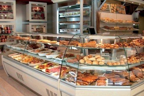Banchi per negozi di alimentari