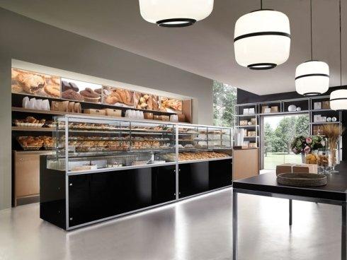 Arredamenti completi per  negozi di alimentari