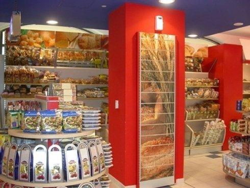 Scaffalature per negozi alimentari